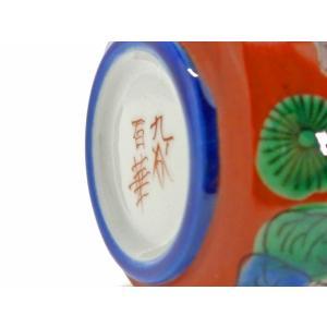 九谷焼 液だれしにくい 蓋ロック機能 磁器 手描き 唐子 ハート おしゃれ 九谷焼 醤油差し 木米(モクベイ)写し|kutanihyakkaen|05