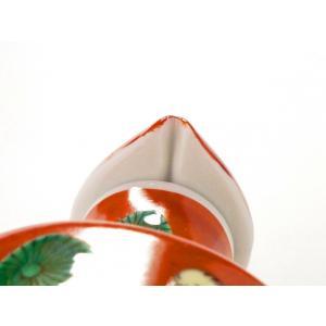 九谷焼 液だれしにくい 蓋ロック機能 磁器 手描き 唐子 ハート おしゃれ 九谷焼 醤油差し 木米(モクベイ)写し|kutanihyakkaen|06