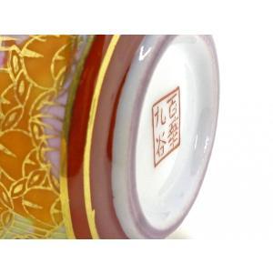九谷焼 液だれしにくい 蓋ロック機能 磁器 手描き 豪華 ハート おしゃれ 九谷焼 醤油差し 加賀のお殿様・お姫様キブン(金花詰)|kutanihyakkaen|08