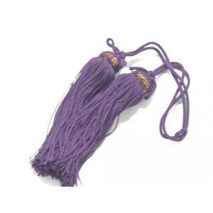 掛軸関連製品 掛軸小物 九谷焼【風鎮用】房 古代紫|kutanihyakkaen
