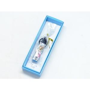 法人大量粗品 お土産 人形 花柄 日本製 ステンレス ツメキリ つめきり 九谷焼 爪切り 白系|kutanihyakkaen
