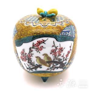 【20%OFF】九谷焼 3.5号香炉 古九谷花鳥 西田伸也 限定品|kutaniyaki