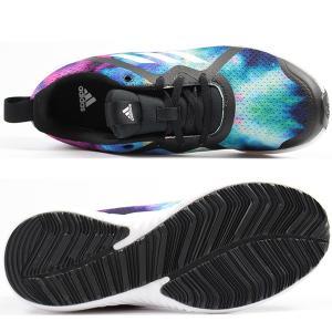アディダス スニーカー レディース キッズ ジュニア 靴 女性 子供 女の子 ローカット 快適 軽量 adidas FortaRun X 2 K|kutsu-nishimura|03