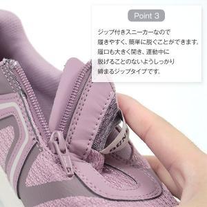 スニーカー レディース 靴 女性 ローカット ダンロップ DUNLOP DC423 軽量設計 屈曲性 幅広設計 ワイズ 4E|kutsu-nishimura|05