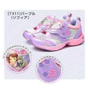 スニーカー 子供 キッズ ジュニア 靴 ディズニー アリエル ラプンツェル ソフィア アナ エルサ プリンセス Disney|kutsu-nishimura|09
