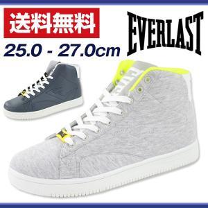 スニーカー ハイカット メンズ 靴 EVERLAST ELM0006