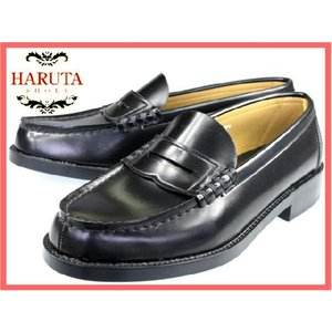 メーカー取寄せ商品 HARUTA 6560 (4E) ハルタ メンズローファー 黒(クロ) 24.5-28.cm|kutsu-nishimura