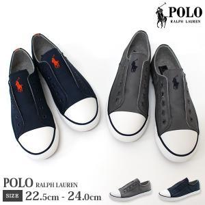 ポロ スニーカー 子供 キッズ ジュニア スリッポン 靴 人気 定番 シンプル 使いやすい チャコール ネイビー 灰色 紺色 普段履き POLO RALPH LAUREN ROWENN|kutsu-nishimura