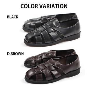 ウィルソン カメ サンダル メンズ 室内履き 通気性 幅広 3E Wilson 3600|kutsu-nishimura|06
