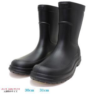 CROCS 雨靴 レインブーツ 30cm 31cm ALLCAST RAIN BOOT メンズ 大きいサイズ204862-060|kutsunohikari