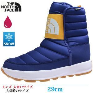 THE NORTH FACE ザ・ノースフェイス スノーシューズ 29cm APRES PULL-ON メンズ 大きいサイズ NF51882 BL|kutsunohikari