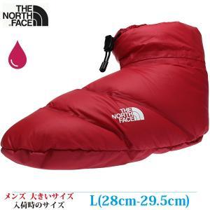 THE NORTH FACE ザ・ノースフェイス スノーシューズ L (28-29.5) NSE Down Tent Bootie Seamless (室内向け) メンズ 大きいサイズ NF51870 RD|kutsunohikari
