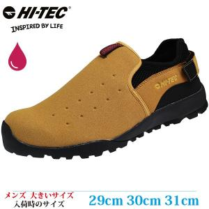 HI-TEC ハイテック カジュアルシューズ 29cm 30cm 31cm HKU14 AORAKI MOC メンズ 大きいサイズ 604DP012|kutsunohikari