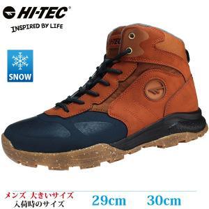 HI-TEC ハイテック スノーシューズ 29cm 30cm HKU22W AORAKI EXP MID WPG メンズ 大きいサイズ HKU22W CA|kutsunohikari