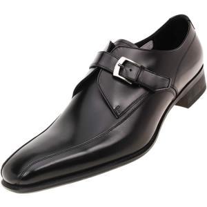 REGAL(リーガル)スクウェアトゥ モンクストラップ 【728R】 セミマッケイ式 日本製 728R BJEB BL 27.5cm 728アール ビージェイイビー 大きいサイズ メンズ 靴|kutsunohikari