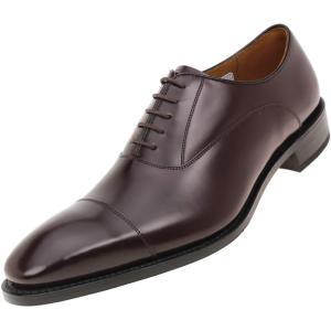 REGAL(リーガル)ロングノーズ ストレートチップ  キップレザー 合成ゴム・ソール 315R BFEB DBR 28cm 大きいサイズ メンズ 靴|kutsunohikari