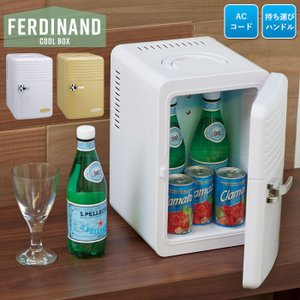 クールボックス 家庭用 コンパクト 保冷庫 6L 電源式 1ドア 環境に優しいペルチェ式 ミニサイズ...