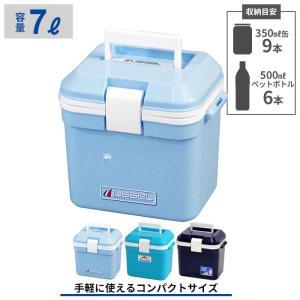 手軽に使えるコンパクトサイズのクーラーボックス。 350ml缶なら9本、500mlペットボトルなら立...