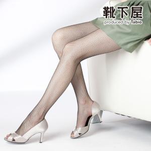 レディース タイツ 靴下屋 アミタイツ タビオ 靴下 カラー...