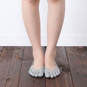 レディース 靴下 靴下屋 消臭 速乾 五本指 カバーソックス タビオ|kutsusitaya|03