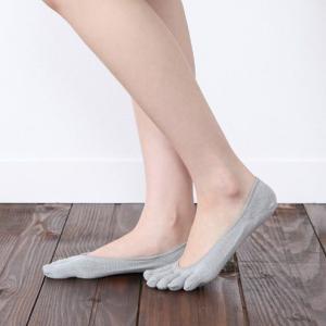 レディース 靴下 靴下屋 消臭 速乾 五本指 カバーソックス タビオ|kutsusitaya|04