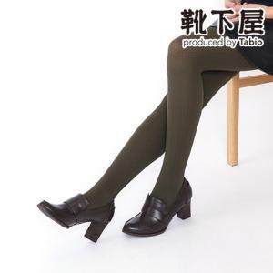 レディース タイツ Tabio ダイヤストライプ柄タイツ 靴...