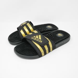 adidas [アディダス][Unisex] ADISSAGE アディサージ ブラック/ゴールド CW7924