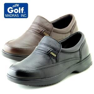 city Golf マドラスシティゴルフ スリッポン 幅広 軽量 GF902 4Eモデル カジュアル ビジネス 普段履き|kutunchi