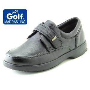 city Golf マドラスシティゴルフ マジックテープ 幅広 軽量 GF904 4Eモデル カジュアル ビジネス 普段履き|kutunchi