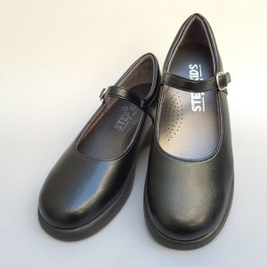 【ST2103L寸】ワンストラップ 学生靴 フォーマル/柔らかい/長時間履いても疲れにくい/日本製 【STEP UP KIDS ステップアップキッズ】/22.0-24.0cm|kutunokingdo