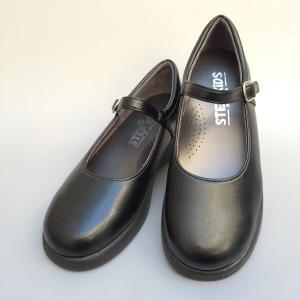 【ST2103M寸】ワンストラップ 学生靴 フォーマル/柔らかい/長時間履いても疲れにくい/日本製 【STEP UP KIDS ステップアップキッズ】/18.0-21.0cm|kutunokingdo