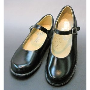 【ST3002LL寸】 ワンストラップ革 学生靴 フォーマル/柔らかい/履きやすい/日本製 【STEP UP KIDS ステップアップキッズ】/25.5-26.0cm|kutunokingdo