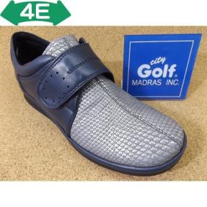 City Golf シティゴルフ GFL3237 ネイビー│婦人 22.0cm〜24.5cm|kutuya-net