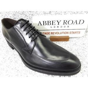 ABBEY ROAD アビイロード AB1201 ブラック│紳士 24.5cm〜27.5cm|kutuya