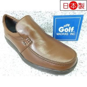 City Golf シティゴルフ GF187 ブラウン│紳士 24.0cm〜27.0cm 閉店セール|kutuya