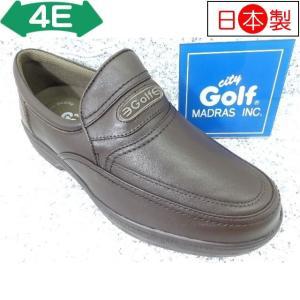 City Golf シティゴルフ GF5001 ダークブラウン│紳士 23.5cm〜27.0cm kutuya
