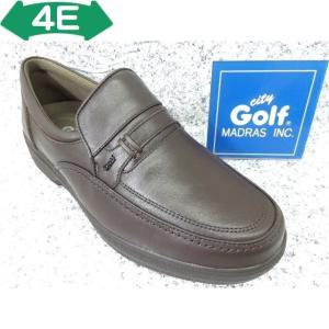 City Golf シティゴルフ GF5002 ダークブラウン│紳士 23.5cm〜27.0cm|kutuya