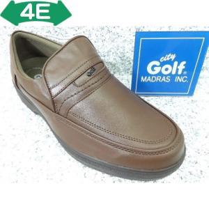 City Golf シティゴルフ GF5003 ブラウン│紳士 23.5cm〜27.0cm|kutuya
