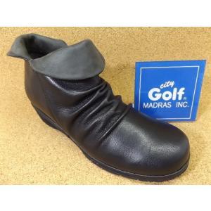 City Golf シティゴルフ GFL20030 ブラック│婦人 22.0cm〜25.0cm 閉店セール|kutuya