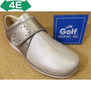 City Golf シティゴルフ GFL3232 ライトベージュ│婦人 22.0cm〜24.5cm 閉店セール|kutuya