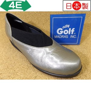 City Golf シティゴルフ GFL5218 シルバーE│婦人 22.0cm〜24.5cm 閉店セール|kutuya