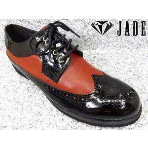 JADE ジェイド JD3510 ブラック/レッド│紳士 24.5cm〜29.0cm|kutuya