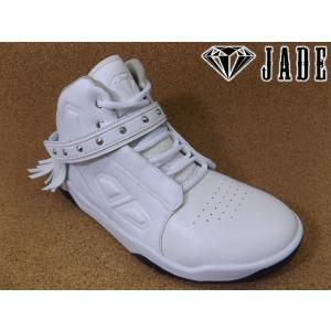 JADE ジェイド JD7101 ホワイト│紳士 24.5cm〜28.0cm kutuya