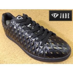 JADE ジェイド JD7116 ブラック/ゴールド│紳士 24.5cm〜28.0cm|kutuya