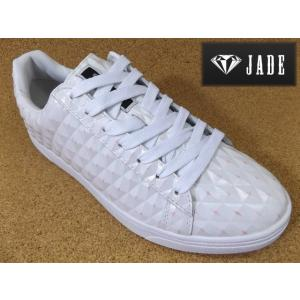 JADE ジェイド JD7116 ホワイト/ピンク│紳士 24.5cm〜28.0cm|kutuya