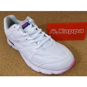 Kappa カッパ BRW36 ガーラW ホワイト/パープル/ピンク (14113111)│婦人 22.0cm〜25.0cm 閉店セール kutuya
