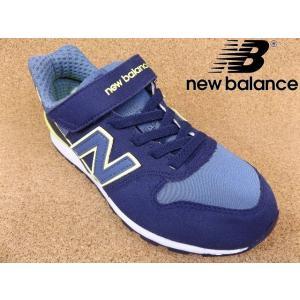 ニューバランス new balance KV996-LVY ネイビー/レモン│ 子供ブランドスニーカー 17.0cm-24.0cm|kutuya