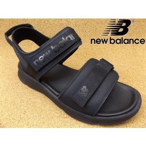 ニューバランス new balance SDL250-BK ブラック│ メンズ サンダル 22.0cm-30.0cm|kutuya
