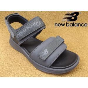 ニューバランス new balance SDL250-GY グレー│ メンズ サンダル 22.0cm-30.0cm|kutuya
