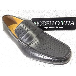 MODELLO VITA madras モデーロ・ビータ VT5681 ブラック│紳士 24.0cm〜27.0cm|kutuya